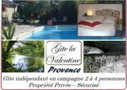 Gite Provence location avec piscine en campagne