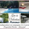 Gîte Provence avec piscine 2-4 personnes