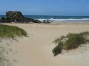 Accès à pieds à d'une magnifique plage. MAISON