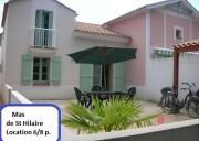 Maison 6/8 pers. – Résidence avec Piscine – Les Mas de St Hilaire