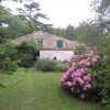 Maison typique catalane, courette, jardin, vue sur la montagne